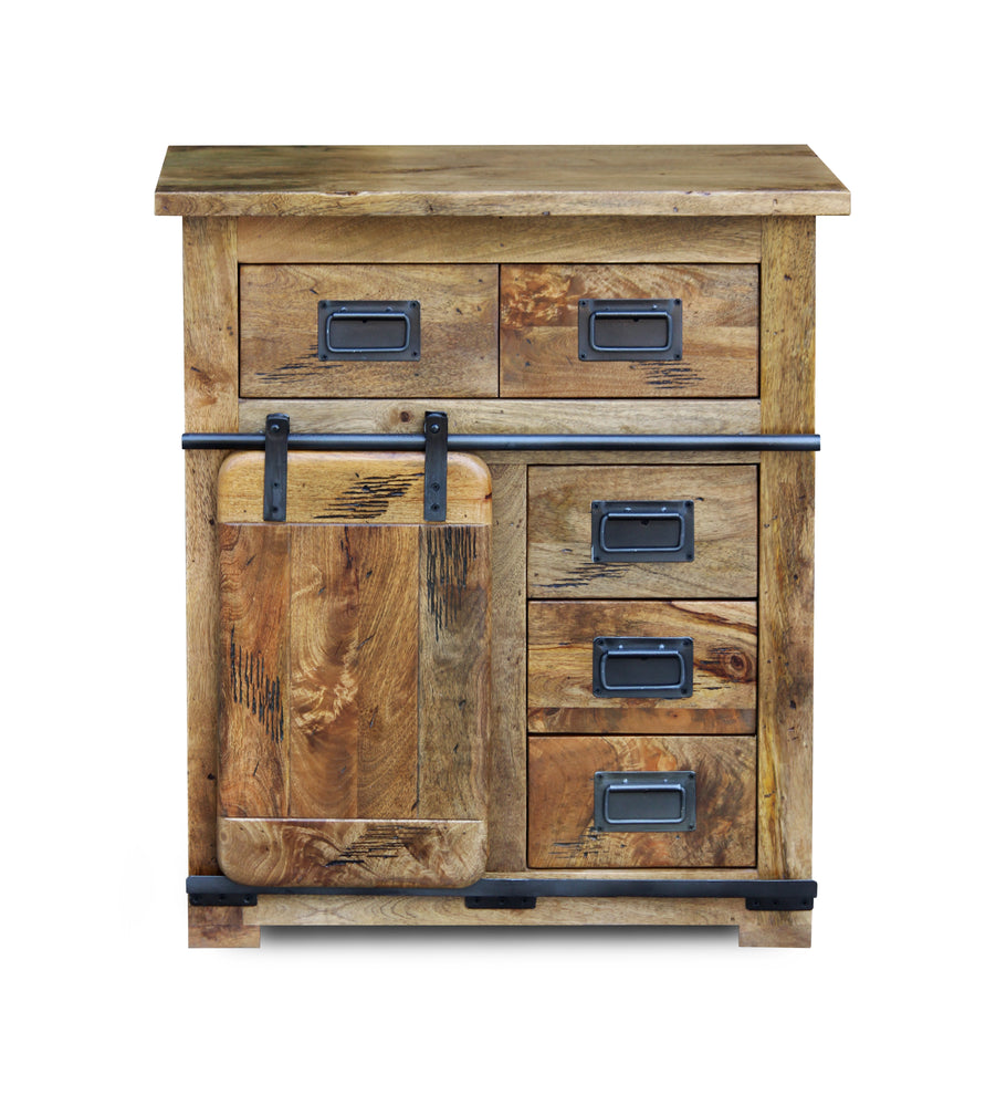 Load image into Gallery viewer, Solid Mango Hall Cabinet 75 x 45 x 85cm - inspired-room.myshopify.com