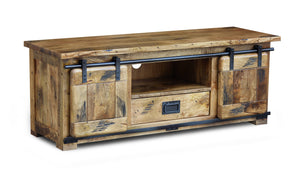 Solid Mango Medium TV Stand 135 x 45 x 51cm - inspired-room.myshopify.com