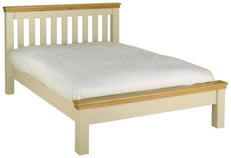 Cassis Painted Bed