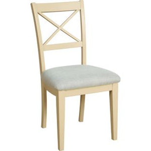 Cassis Painted Cross Back Dining Chair