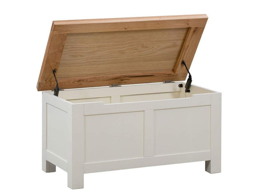 Kingston Cream Blanket Box - Inspired Rooms Furniture Superstore