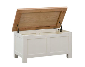 Kingston Cream Blanket Box