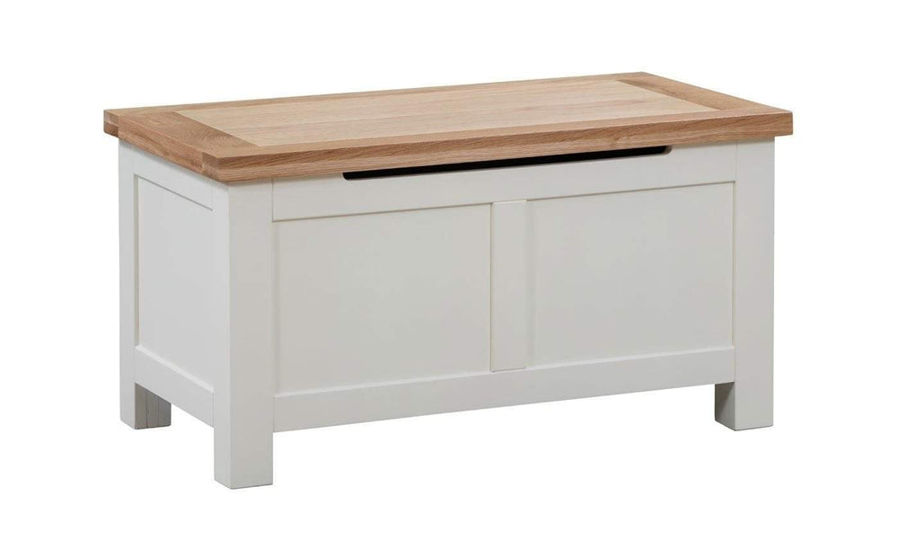 Kingston Cream Blanket Box - inspired-room.myshopify.com