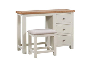 Load image into Gallery viewer, Kingston Cream Dressing Table & Stool - inspired-room.myshopify.com