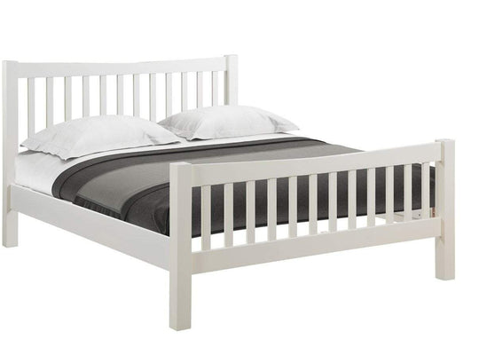 "Kingston Cream 4'6"" Bed - Inspired Rooms"