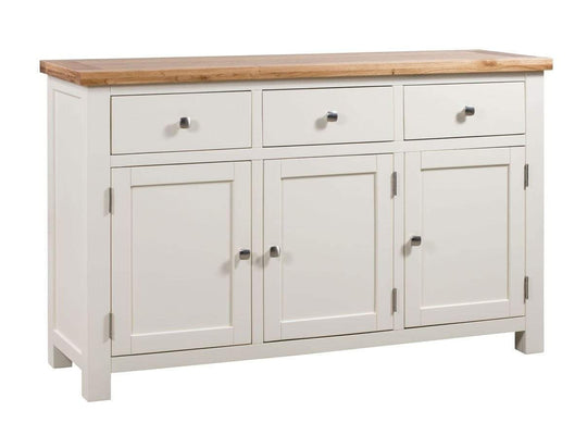 Kingston Cream 3 Door Sideboard - Inspired Rooms