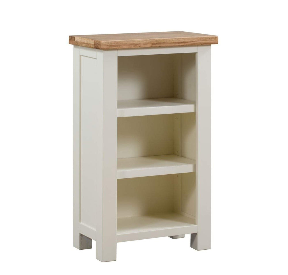 Kingston Cream Small Bookcase - Inspired Rooms