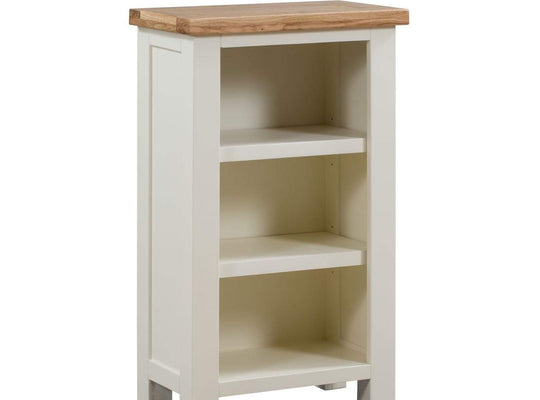 Kingston Cream Small Bookcase - Inspired Rooms Furniture Superstore