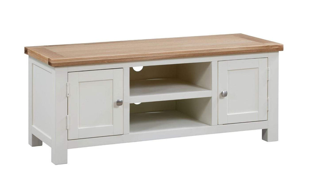 Kingston Cream Large TV Unit - Inspired Rooms Furniture Superstore