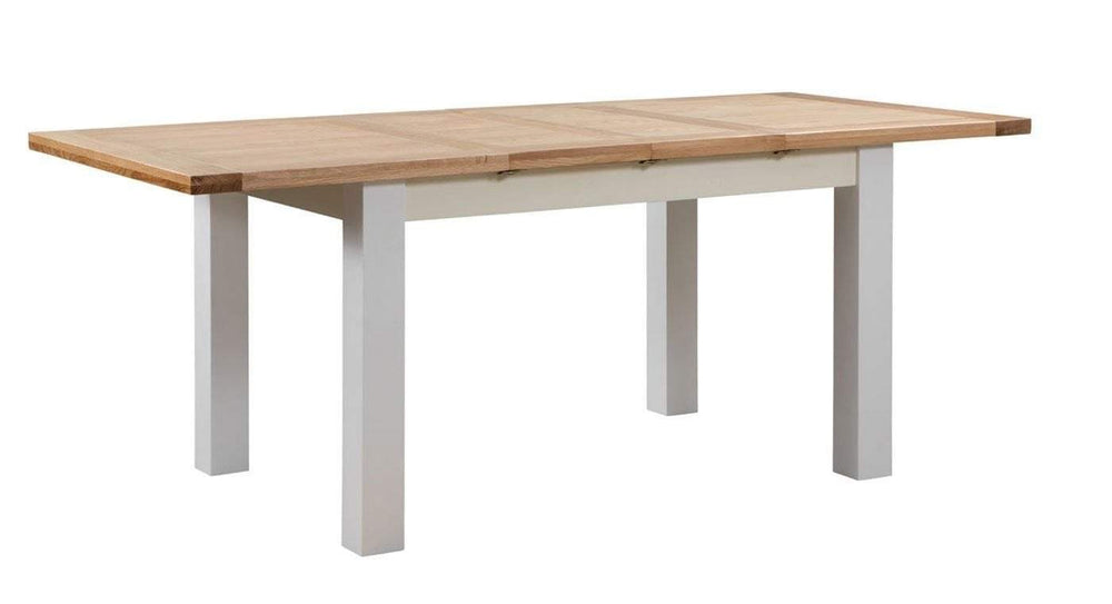 Medium Extending Dining Table with 2 Leaf extensions - inspired-room.myshopify.com
