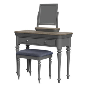 2 Drawer Dressing Table Set (stool and mirror can be separate purchases)