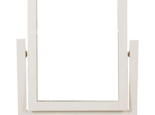 Havana Cream Painted Dressing Mirror - Inspired Rooms Furniture Superstore