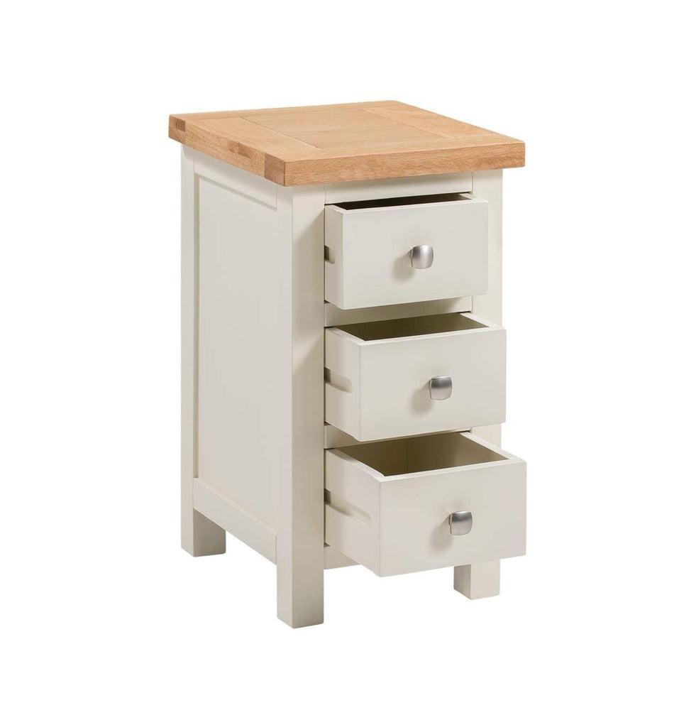 Kingston Cream Compact Bedside Chest - inspired-room.myshopify.com