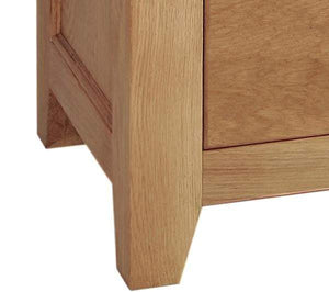 Narrow 3 Drawer Bedside Cabinet - inspired-room.myshopify.com