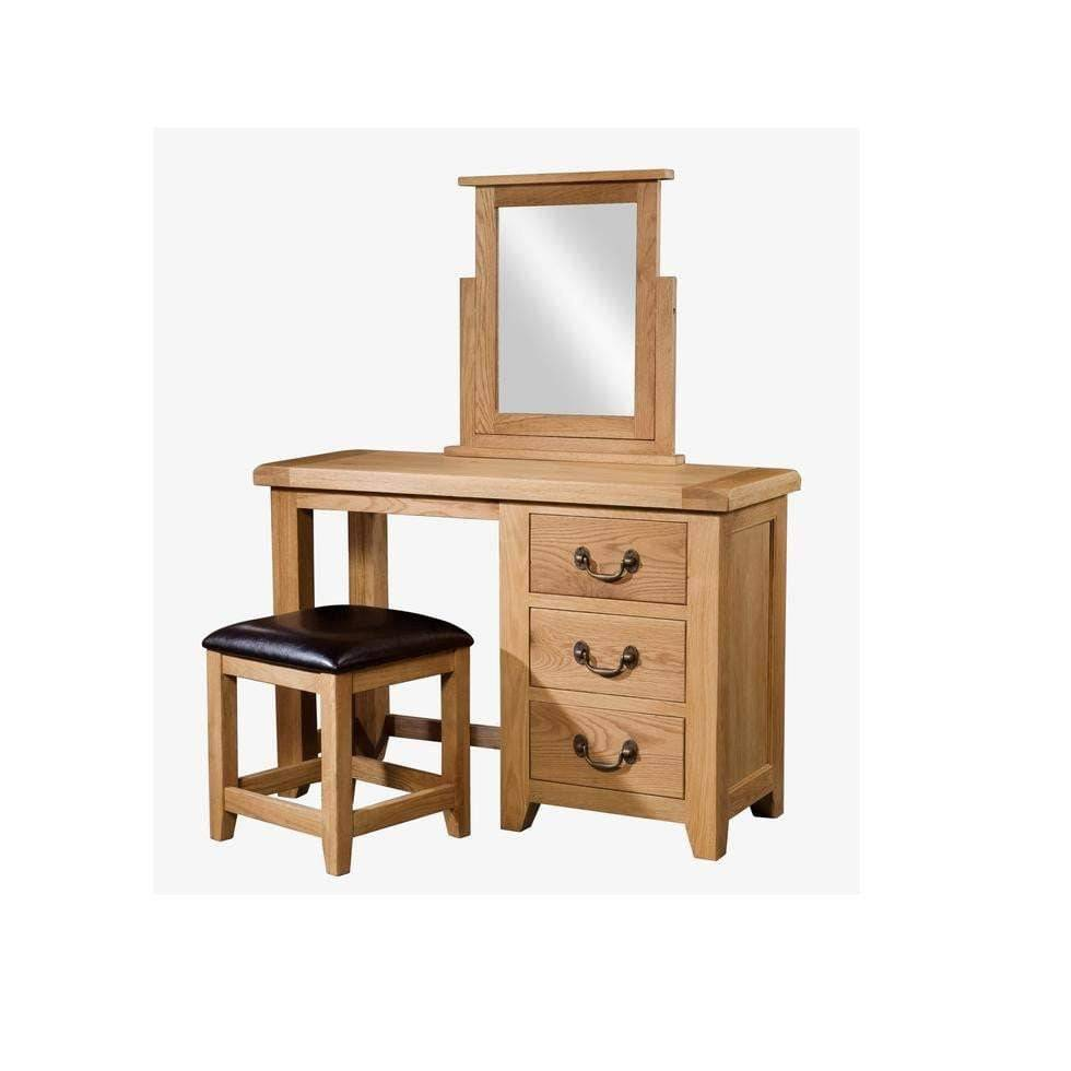 Single Ped Dressing Table
