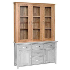 "Load image into Gallery viewer, 4' 6"" Solid Oak Dresser Top - inspired-room.myshopify.com"