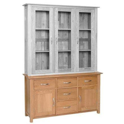 "4' 6"" Solid Oak Dresser Base - Inspired Rooms"