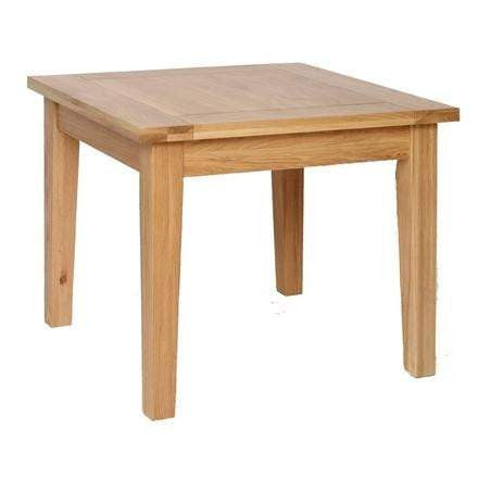 Solid Oak 3' x 3' Fixed Top Dining Table
