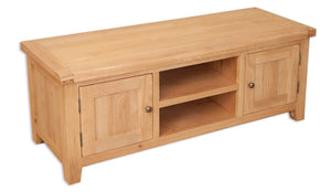 New Havana Oak Plasma TV Unit - inspired-room.myshopify.com
