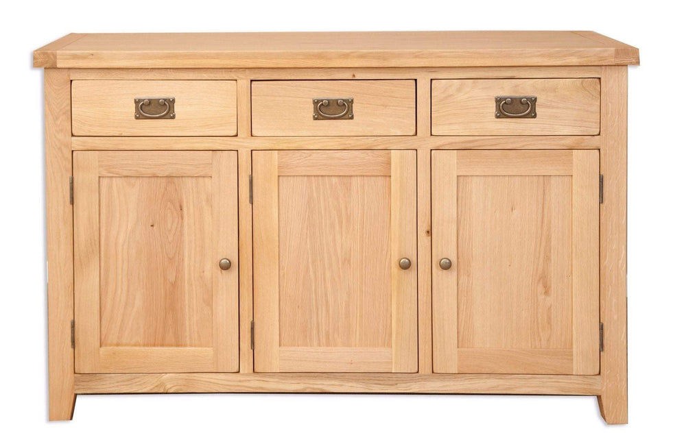 Havana Oak 3 Door Sideboard