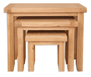 New Havana Oak Nest of Tables - inspired-room.myshopify.com