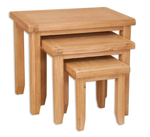 Load image into Gallery viewer, New Havana Oak Nest of Tables - inspired-room.myshopify.com