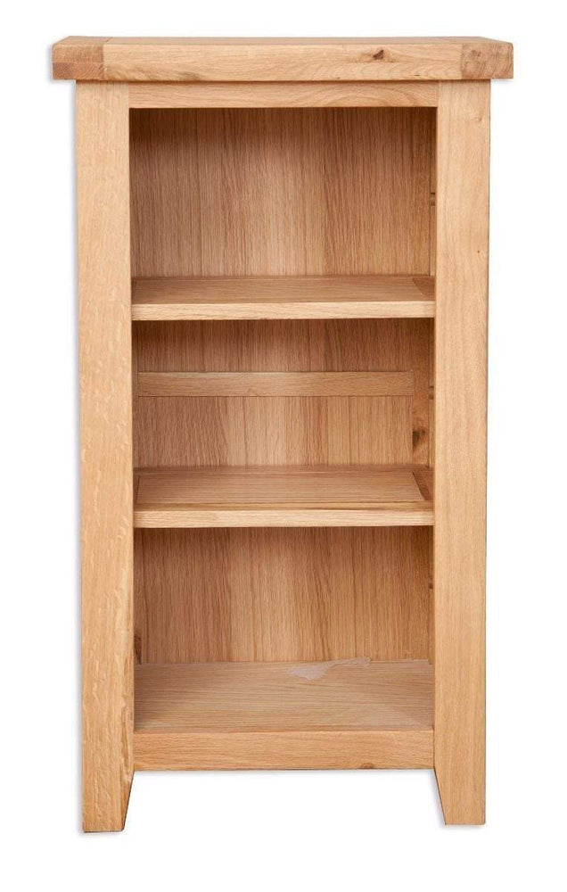 Havana Oak Small Bookcase / DVD Rack