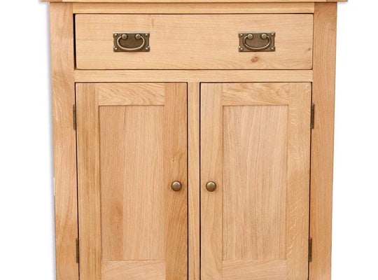 Havana Oak Hall Cabinet - Inspired Rooms