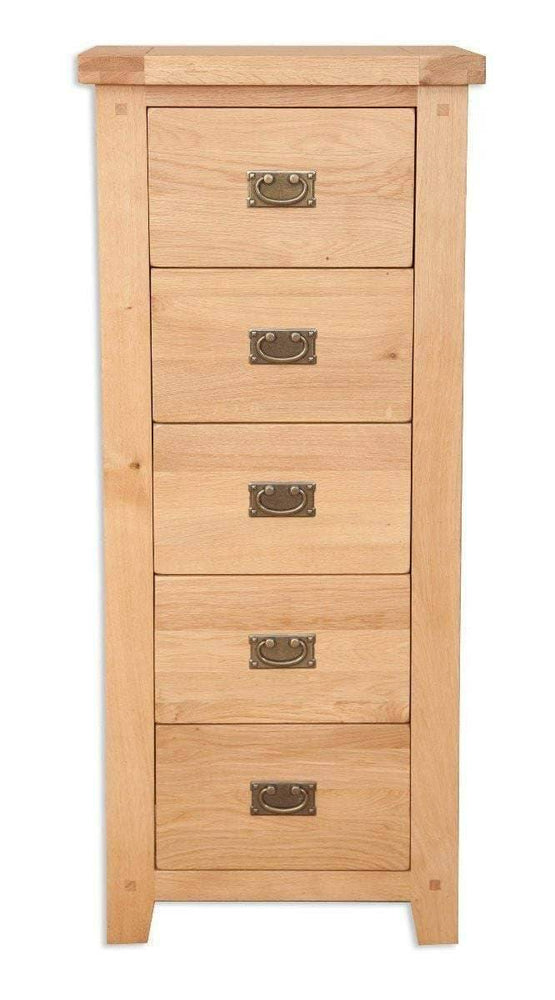 5 Drawer Tallboy - Inspired Rooms Furniture Superstore