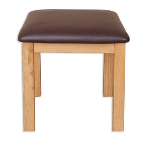 Load image into Gallery viewer, New Havana Oak Dressing Stool