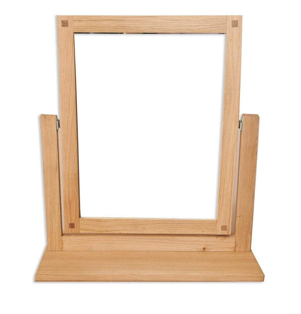 New Havana Oak Dressing Mirror