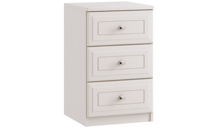 Ravello 3 Drawer Bedside