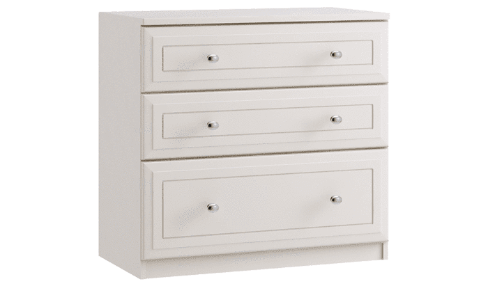 3 Drawer Chest with 1 Deep - inspired-room.myshopify.com