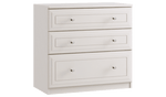 3 Drawer Chest with 1 Deep