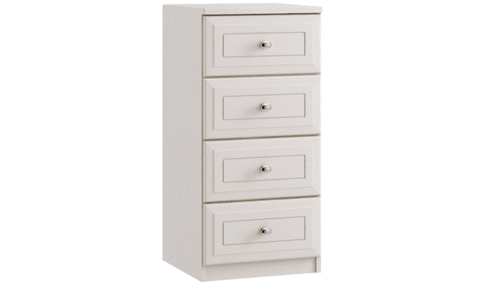 4 Drawer Narrow Chest - inspired-room.myshopify.com