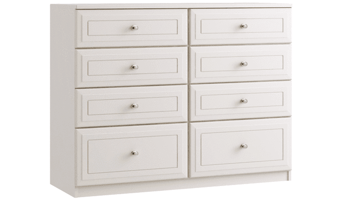 8 Drawer Twin Chest - Inspired Rooms Furniture Superstore
