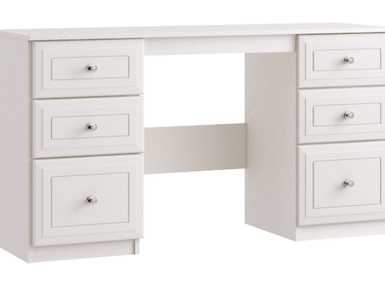 Double Pedestal Dressing Table - inspired-room.myshopify.com