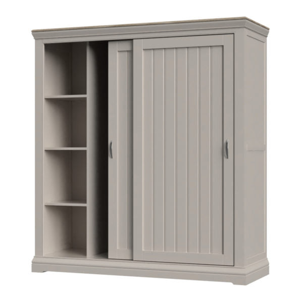Double Wardrobe with Sliding Doors