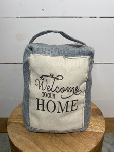 Welcome to our Home Doorstop