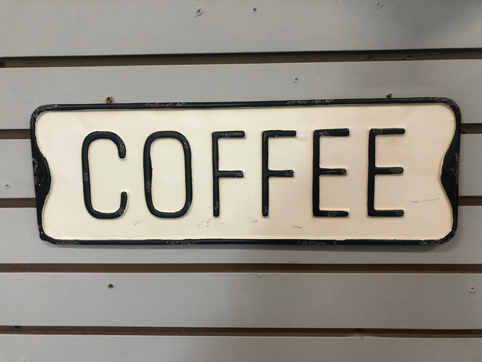 Coffee Street Sign