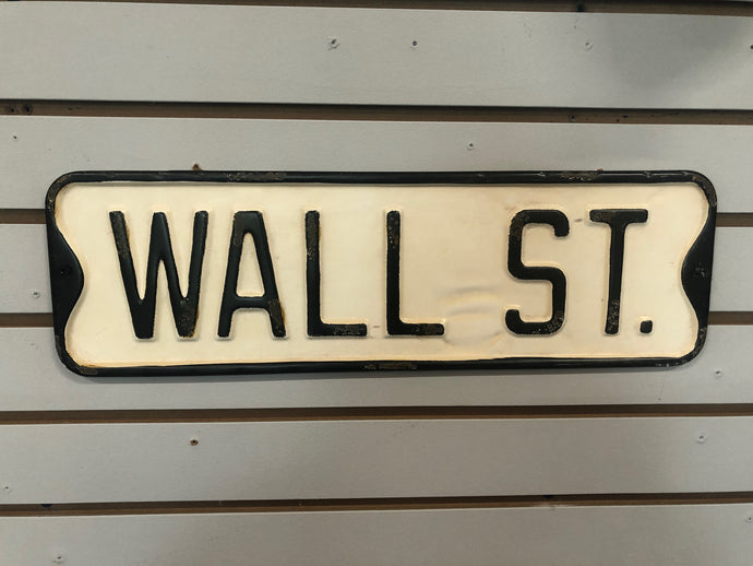 Wall St. Street Sign