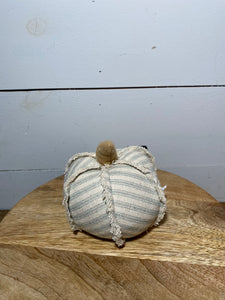 "4"" Mini Fabric Pumpkin"