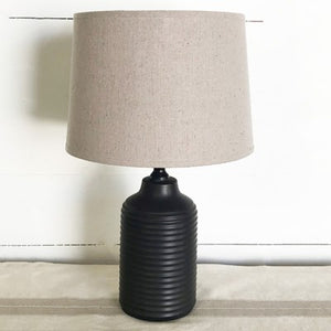Black Stripe Lamp