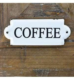 Small Coffee Tin Sign