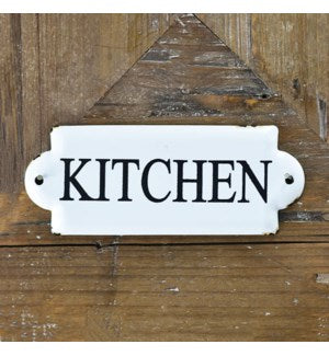 Small Kitchen Tin Sign