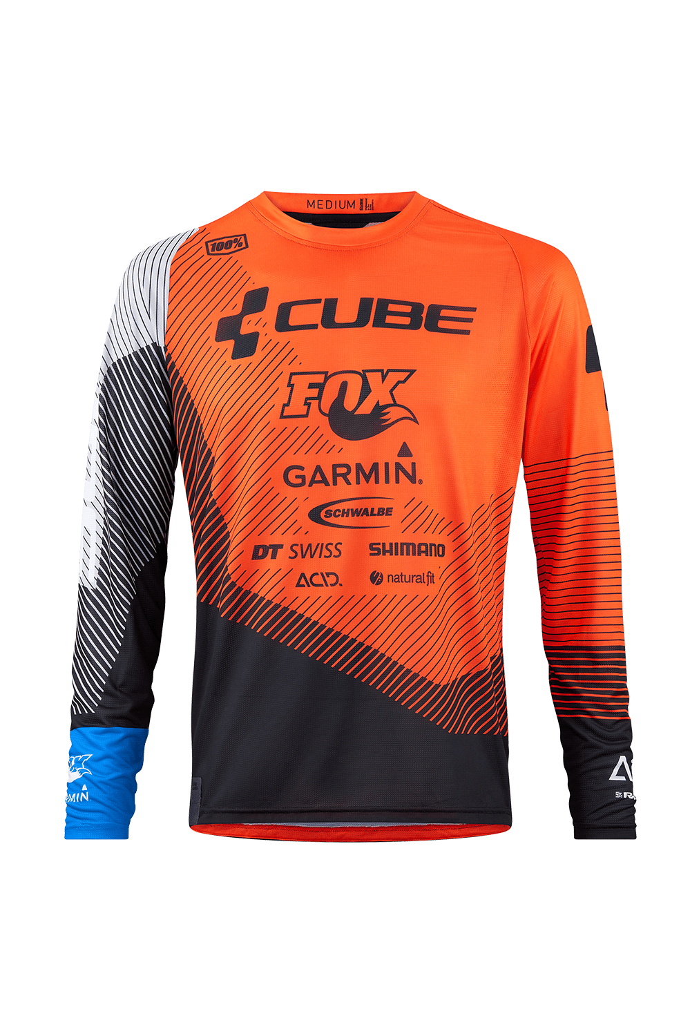 CUBE EDGE JERSEY ML X ACTIONTEAM