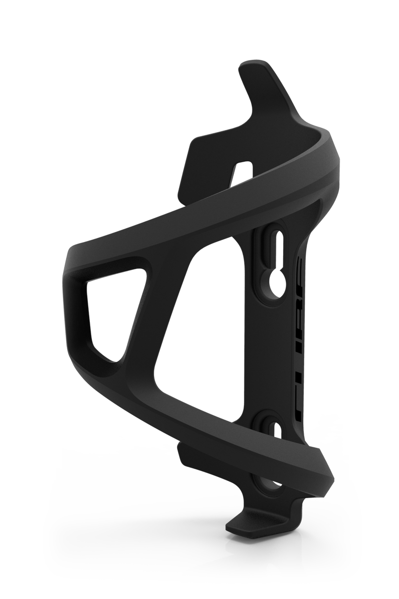 CUBE Bottle Cage HPP Left-Hand Sidecage black´n´black