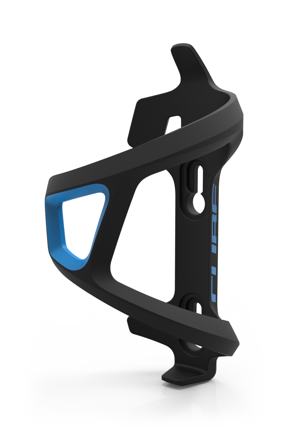 CUBE Bottle Cage HPP Left-Hand Sidecage black´n´blue