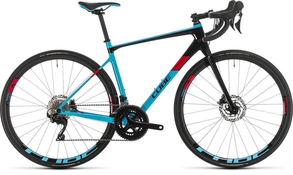 CUBE Axial WS GTC Pro lightblue'n'red 2020