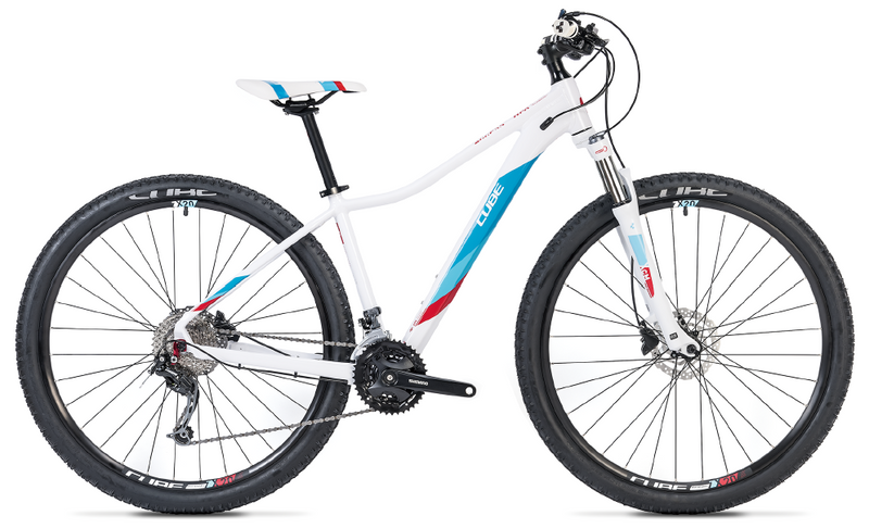 CUBE Access WS Pro white'n'blue 2019